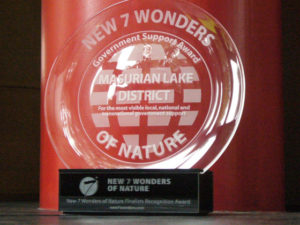 New7Wonders of Nature Recognition Award for Poland's Masurian Lake District