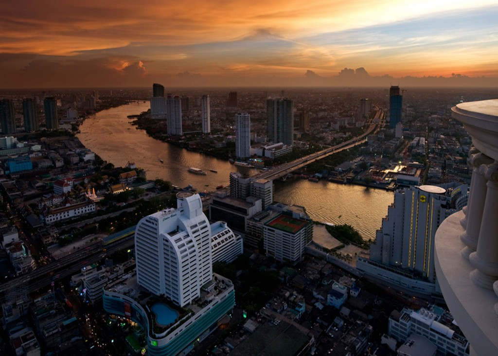 On the list, Bangkok. Thailand's commercial, spiritual, cultural and political capital.